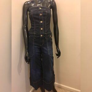 e5202dceac Baby Phat Jeans - ⬇️Baby Phat denim jeans romper one piece capri
